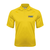 City College of Technology  Gold Dri Mesh Pro Polo-New York City College Of Technology w/ Shield
