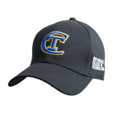City College of Technology  Black Heavyweight Twill Pro Style Hat-Official Logo
