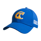 City College of Technology  Royal Heavyweight Twill Pro Style Hat-Official Logo