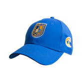 City College of Technology  Royal Heavyweight Twill Pro Style Hat-CUNY Shield