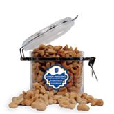 Cashew Indulgence Round Canister-CUNY Shield