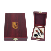 Tuscany Wine Set-CUNY Shield Engraved