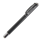 Tuscany Black Rollerball Pen-New York City College Of Technology w/ Shield Engraved