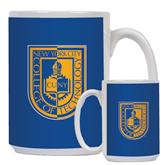 Full Color White Mug 15oz-CUNY Shield