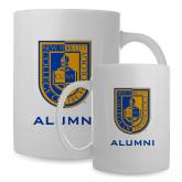 Alumni Full Color White Mug 15oz-CUNY Shield