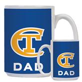 Dad Full Color White Mug 15oz-Official Logo