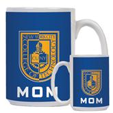 Mom Full Color White Mug 15oz-CUNY Shield