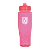 Spectrum Pink Sport Bottle 28oz-CUNY Shield