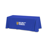 Royal 6 foot Table Throw-New York City College Of Technology w/ Shield