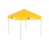 9 ft x 9 ft Gold Tent-New York City College Of Technology w/ Shield