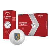 Callaway Chrome Soft Golf Balls 12/pkg-CUNY Shield