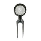 City College of Technology  Silver Divot Tool/Ball Marker-CUNY Shield Engraved