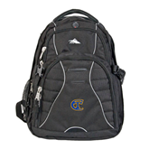 City College of Technology  High Sierra Swerve Black Compu Backpack-Official Logo
