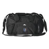 High Sierra Black Switch Blade Duffel-CUNY Shield