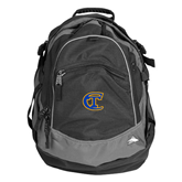 City College of Technology  High Sierra Black Titan Day Pack-Official Logo