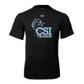 Under Armour Black Tech Tee-Tennis