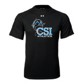 Under Armour Black Tech Tee-Athletics