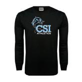 Black Long Sleeve TShirt-Athletics