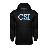 Under Armour Black Performance Sweats Team Hood-CSI