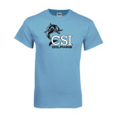 Light Blue T-Shirt-Official Logo