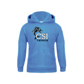 College of Staton Island Youth Light Blue Fleece Hoodie-Tennis