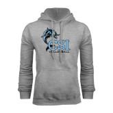 Grey Fleece Hood-Volleyball