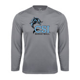 Syntrel Performance Steel Longsleeve Shirt-Basketball