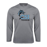 Syntrel Performance Steel Longsleeve Shirt-Tennis