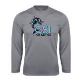 College of Staton Island Performance Steel Longsleeve Shirt-Athletics