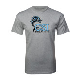Sport Grey T Shirt-Official Logo