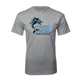 Sport Grey T Shirt-Cheerleading