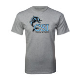 Sport Grey T Shirt-Track and Field