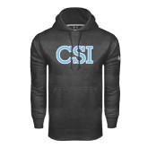 College of Staton Island Under Armour Carbon Performance Sweats Team Hoodie-CSI