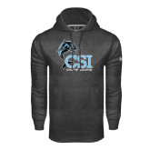College of Staton Island Under Armour Carbon Performance Sweats Team Hoodie-Cheerleading