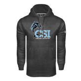 College of Staton Island Under Armour Carbon Performance Sweats Team Hoodie-Cross Country