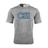 Performance Grey Heather Contender Tee-CSI