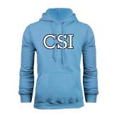 College of Staton Island Light Blue Fleece Hoodie-CSI