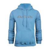 College of Staton Island Light Blue Fleece Hoodie-Fear the Fin