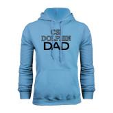 College of Staton Island Light Blue Fleece Hoodie-Dad