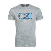 Next Level SoftStyle Heather Grey T Shirt-CSI