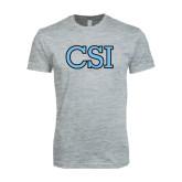 Next Level SoftStyle Heather Grey T Shirt-CSI