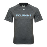 Under Armour Carbon Heather Tech Tee-Dolphins