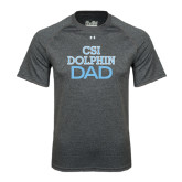 Under Armour Carbon Heather Tech Tee-Dad