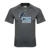 Under Armour Carbon Heather Tech Tee-Soccer