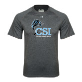 Under Armour Carbon Heather Tech Tee-Track and Field