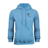 College of Staton Island Light Blue Fleece Hoodie-Official Logo