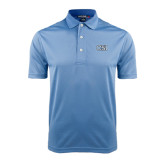 College of Staton Island Light Blue Dry Mesh Polo-CSI