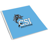 College of Staton Island College Spiral Notebook w/Clear Coil-Official Logo