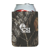 College of Staton Island Collapsible Camo Can Holder-Official Logo
