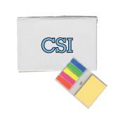 College of Staton Island Micro Sticky Book-CSI